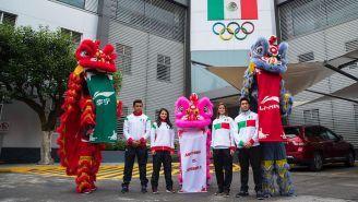 La presentación de la empresa Li-Ning como patrocinador