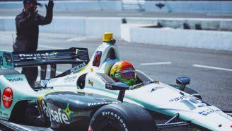 Pietro Fittipaldi, durante una carrera