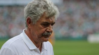 Tuca Ferretti, tras la derrota frente a Santos