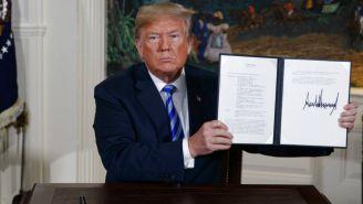 Donald Trump termina el acuerdo nuclear con Irán