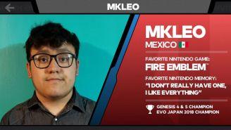 MKLeo es uno de los mejores jugadores de Smash en el mundo
