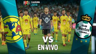 EN VIVO y EN DIRECTO: América vs Santos