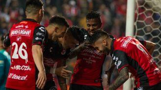 Xolos festeja triunfo contra Toluca en 'Semis'