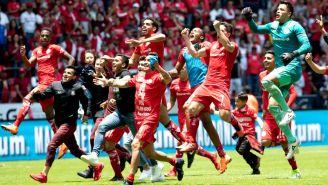 Toluca festeja pase a la Final del Clausura 2018