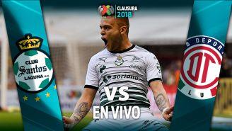 EN VIVO y EN DIRECTO: Santos vs Toluca