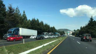 Así lucía la carretera México-Toluca