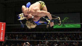 Lee ejecuta acrobacia en torneo Best of Super Jr.