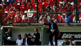 Rubén Omar Romano, en su paso por el banquillo de Santos