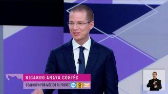 Anaya presenta propuestas en segundo Debate Presidencial