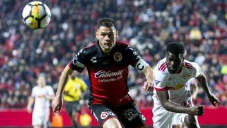 Pablo Aguilar en su paso por Tijuana