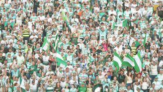 Afición de Santos apoya a su equipo en la Final de Ida contra Toluca