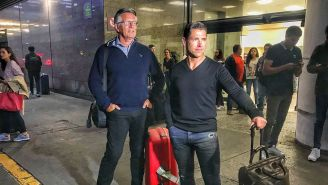 El padre y representante de Luuk de Jong llegaron a México