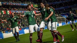 Así luce la Selección Mexicana en FIFA 18