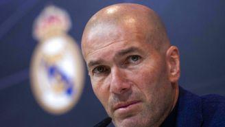 Zidane en conferencia de prensa