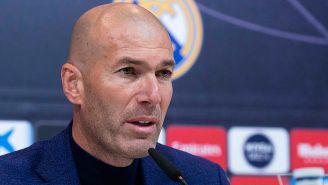 Zidane anuncia su salida del Real Madrid