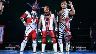 Liger, Mysterio y Tanahashi hacen tercia en NJPW