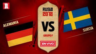 Alemania se mide a Suecia en el Grupo F