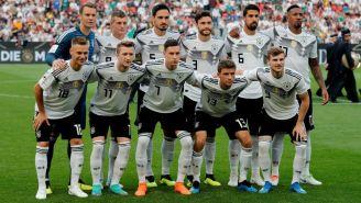 Alemania previo al encuentro contra Arabia Saudita