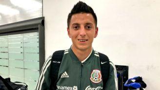 Roberto Alvarado arriba a la Ciudad de México