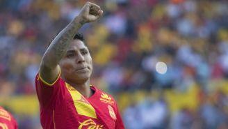 Raúl Ruidiaz dedica gol a la afición de Monarcas