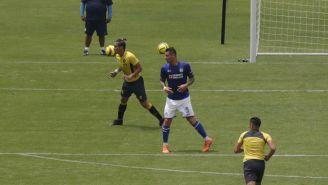 Leones Negros y Cruz Azul empatan en el Estadio Azul