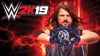 AJ Styles en el videojuego WWE2K19