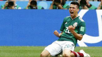 Chucky celebra con alegría anotación frente a Alemania