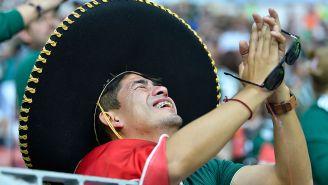 Mexicano se lamenta en juego de Alemania
