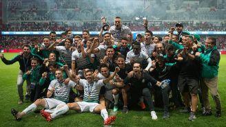 Santos celebra título del Clausura 2018