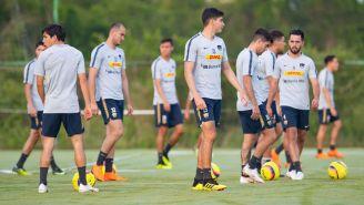 Futbolistas de Pumas se preparan con trabajo de cancha