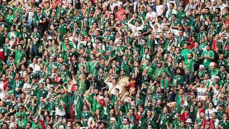 Fans del Tri, en juego contra Alemania en Rusia 2018