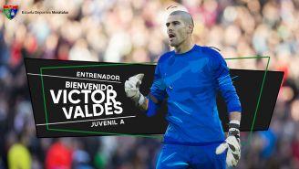 Víctor Valdés fue anunciado como entrenador del Juvenil A