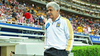 Ferretti, en el juego entre Chivas y Tigres del C2018