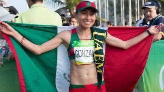 Lupita González en los Juegos Olímpicos de Río de Janeiro 2016