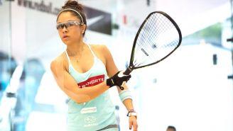 Paola Longoria, en el Tour Profesional de Raquetbol Femenil