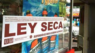 Así lucen algunos establecimientos con el anunció de la Ley Seca