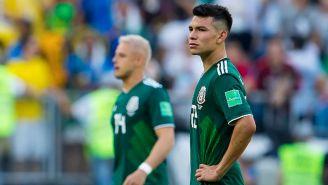 Lozano se lamenta tras la eliminación del Tri en Rusia 2018