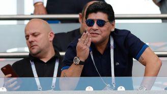 Maradona en juego de Argentina