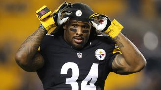 DeAngelo Williams en un partido de la NFL