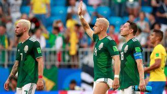 Hernández, Layún y Guardado se lamentan tras la eliminación del Tri