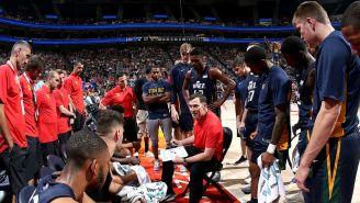 Utah Jazz recibe indicaciones de su técnico