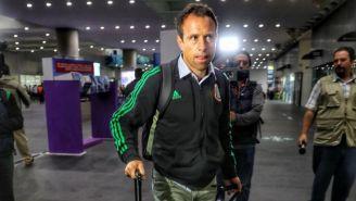 Torrado en el aeropuerto de la Ciudad de México