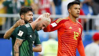 Layún, Peralta y Talavera se lamentan por la eliminación frente a Brasil