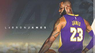 Así fue la presentación de LeBron como jugador de Lakers