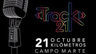 Promocional de la carrera Track21 & 5K en Campo Marte
