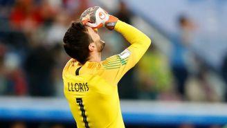 Hugo Lloris celebra el pase de Francia a la Final