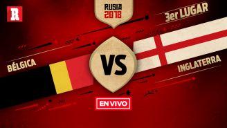 EN VIVO Y EN DIRECTO: Bélgica vs Inglaterra