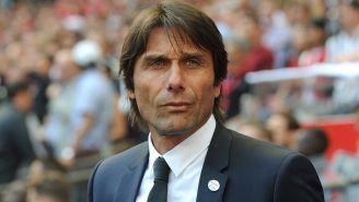 Antonio Conte, en un partido del Chelsea