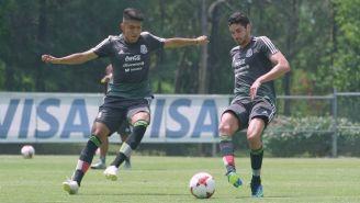 Selección Mexicana entrena previo a su debut en los Juegos Centroamericanos