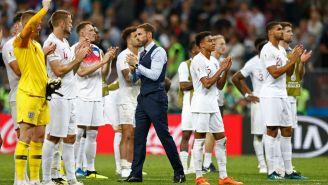 Inglaterra agradeció el apoyo de su afición tras caer contra Croacia